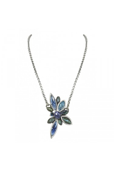 Collier Franck Herval  FIREFLY  petit collier bleu 15--60510