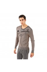 Guess Pull Homme FIORENZIANO GRIS M52R31