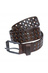 Ceinture Japan Rags Holes Brown