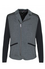 Blouson Japan Rags Drook Grey Black
