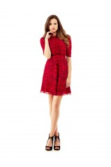 Robe Guess Stella Rouge