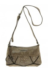 Sac Bandoulière Thierry Mugler Ivresse 3 Beige/Taupe