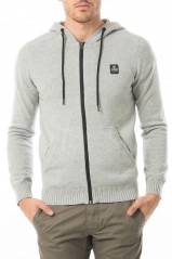 Pull Jack & Jones Gavin Hood Light Grey