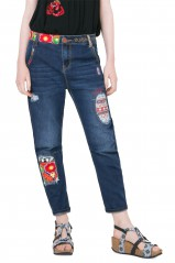 Desigual Jean Denim_New Exot Bleu