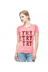 Guess T-Shirt Femme Try Red