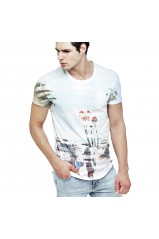 Guess T-Shirt Ground Optic White