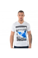 Kaporal T-Shirt Homme Caboo Gris Clair