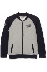 Kaporal Sweat zippé Meka Gris