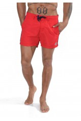 Kaporal Short de bain Dock Rouge