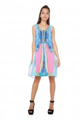 Desigual Robe Madrid Rose 73V2WT7