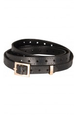 King Louie Ceinture Belt Star Black 02368