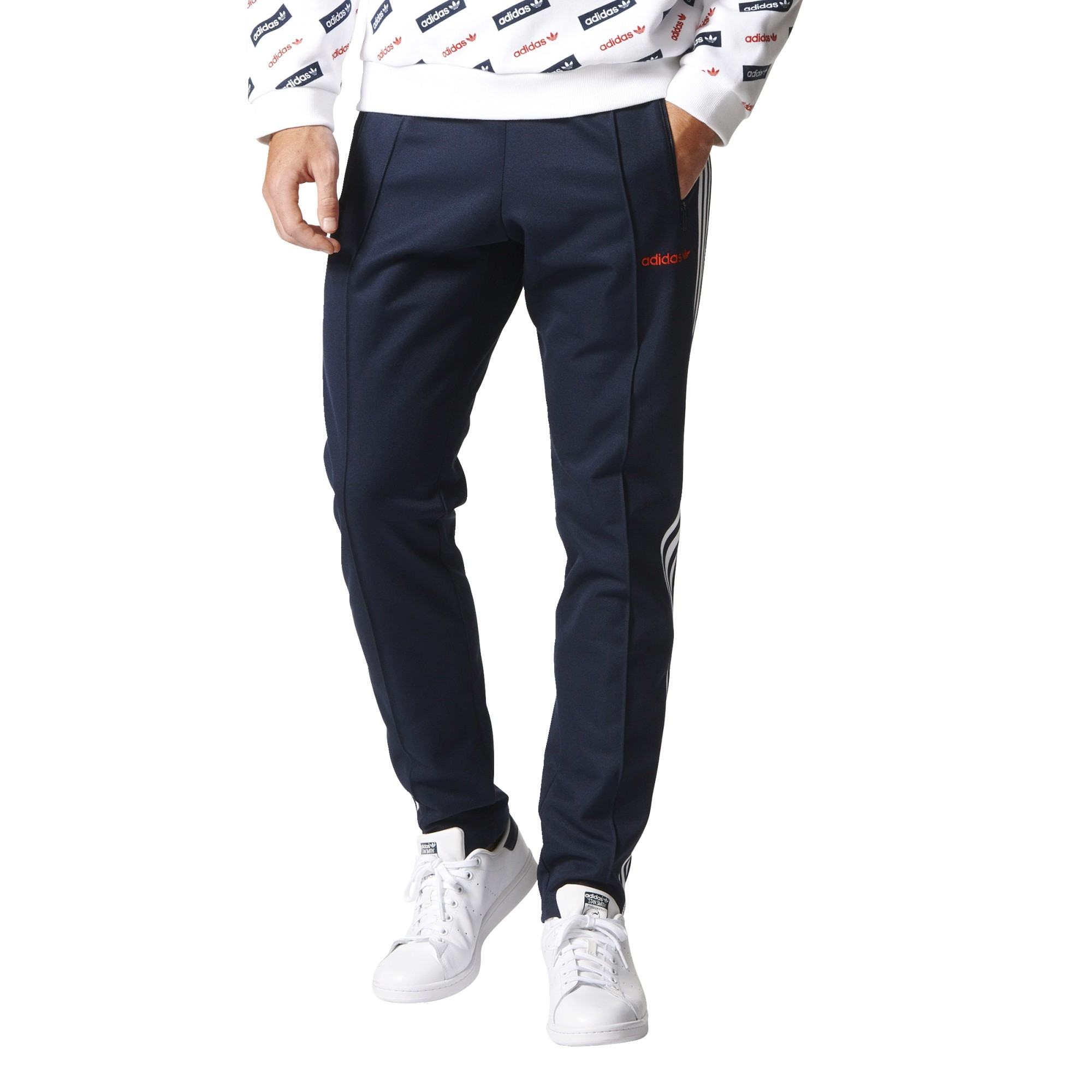623440d385e Adidas Originals Pantalon de survêtement Block Homme Legend Ink