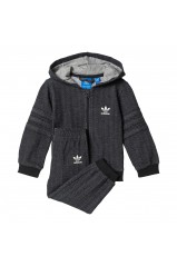 Adidas Originals Ensemble de Survêtement Bébé Trefoil Hoodie Black/White