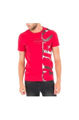 Guess Tee-Shirt Homme Bold Thinking Rouge