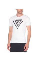 Guess T-Shirt Homme Usually Blanc