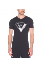 Guess T-Shirt Homme Usually Noir