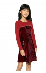 Desigual Robe Lincoln Burdeos Rouge 17WGVK52