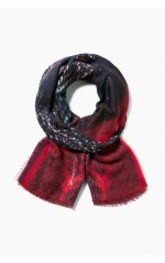 Desigual Foulard Ka Purple Wine Rouge 17WAWFB7