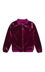 Guess Sweat Zippé Fille Bordeaux