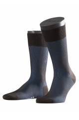 Chaussettes Falke Fine Shadow Brown