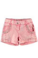 Short Name It Isa Kids Twill Calypso Coral