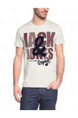 T-Shirt Jack & Jones Gerrad Cloud Dancer