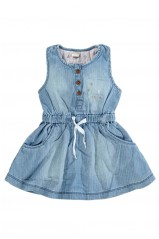 ROBE NAME IT ALYSSA Light Blue Denim