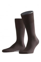 Chaussettes Falke Airport Brown