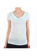 VERO MODA T SHIRT NOVEMBER WATERFALL VERT