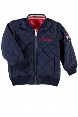 Blouson reversible Name It Mento Bleu et Rouge