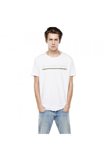 T-Shirt G-Star Rezton Long White
