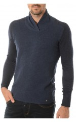 Guess Pull Homme Otto Bleu