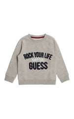 Guess Sweat garçon Gris