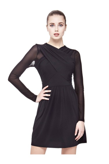 Guess Robe Twisty Noir