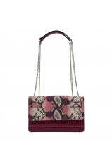 Guess Sac Bandoulière Cate Convertible Xbody Plum Multi