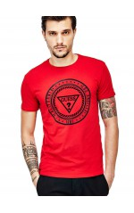 Guess T-Shirt Homme Heal Itself Rouge