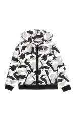 GUESS SWEAT MOTIF CAMOUFLAGE