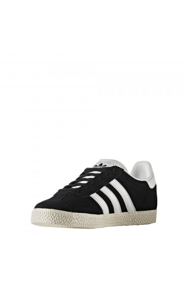 Adidas Originals Baskets Gazelle J Core Black/Footwear White/Gold Metallic