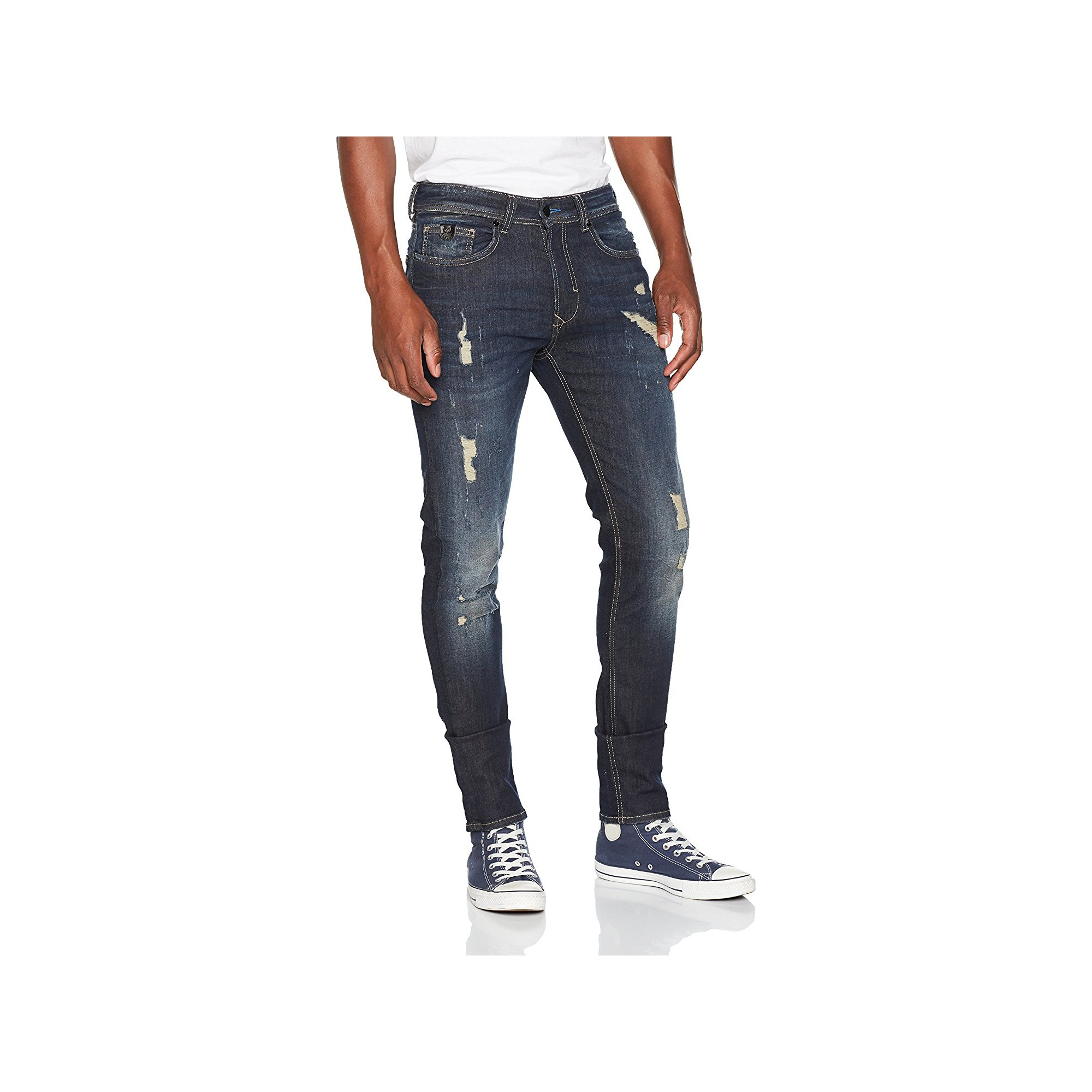 In Size 32/30 Fashionable G-star Raw 5620 Elwood Slim Fit Jean Style;