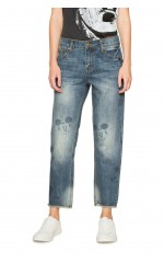 Desigual Jean Margot Denim Dark Blue 18SWDD46
