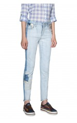 Desigual Jean Denim Loréne Denim Light Wash  Bleu 18SWDD09