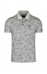 Guess Polo Homme Justin Gris