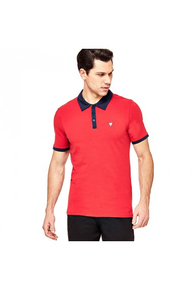 Guess Polo Homme Paul M81P31 Rouge