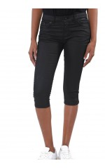 Kaporal Jeans Court Poly Noir coupe slim