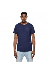 T-Shirt G-Star Omaros Medium Aged Indigo