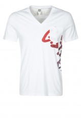 G-Star T-Shirt Blanc ART EXILE 84070A 4833 110 Homme