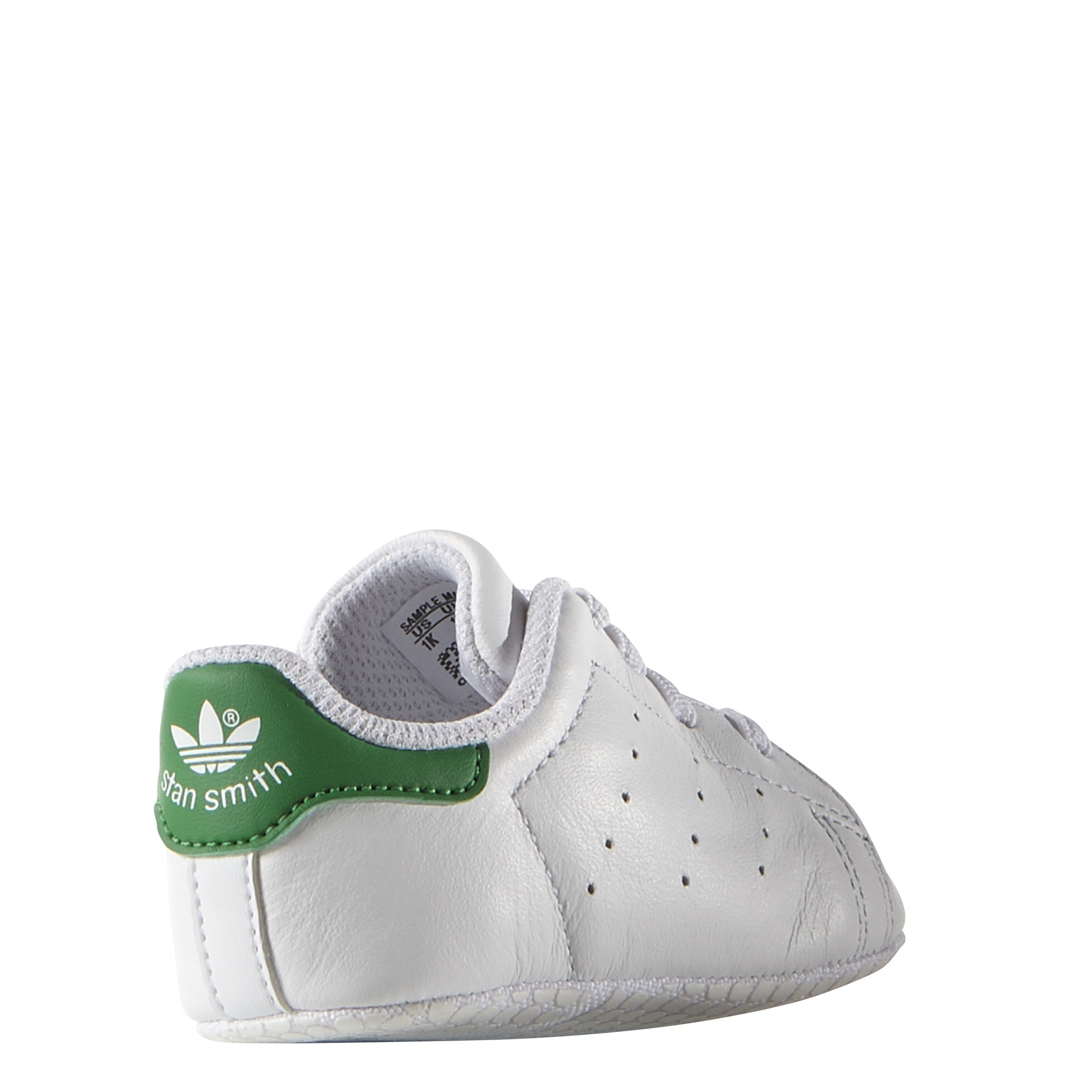 c25985ba0a833 Adidas Originals Baskets Bébé Stan Smith Blanc Vert