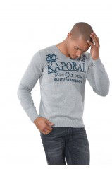 Kaporal Pull Twink Gris clair