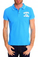 REDSKINS POLO HOMME ESTEBAN BRIDGE TURQUOISE