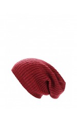 Guess Bonnet Maille Bordeaux AW6716
